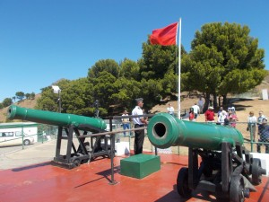 South African Navy sailor talking about the Noon Gun